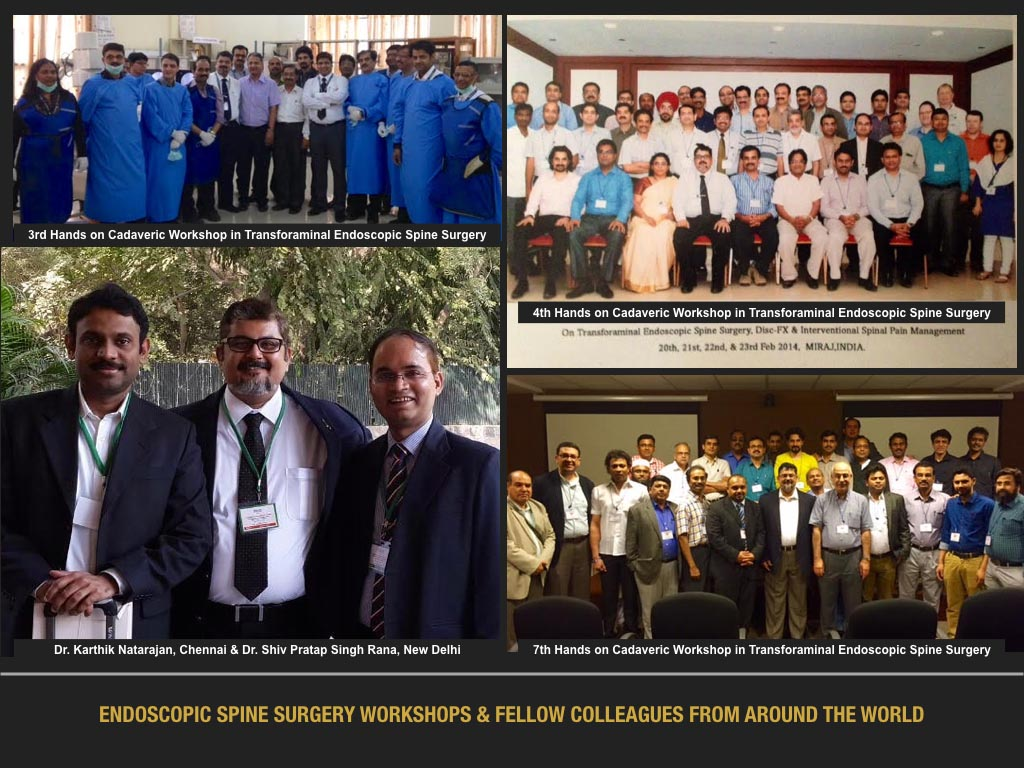 Endoscopic Spine Surgery Workshop & Fellow Colleagues From Around The World