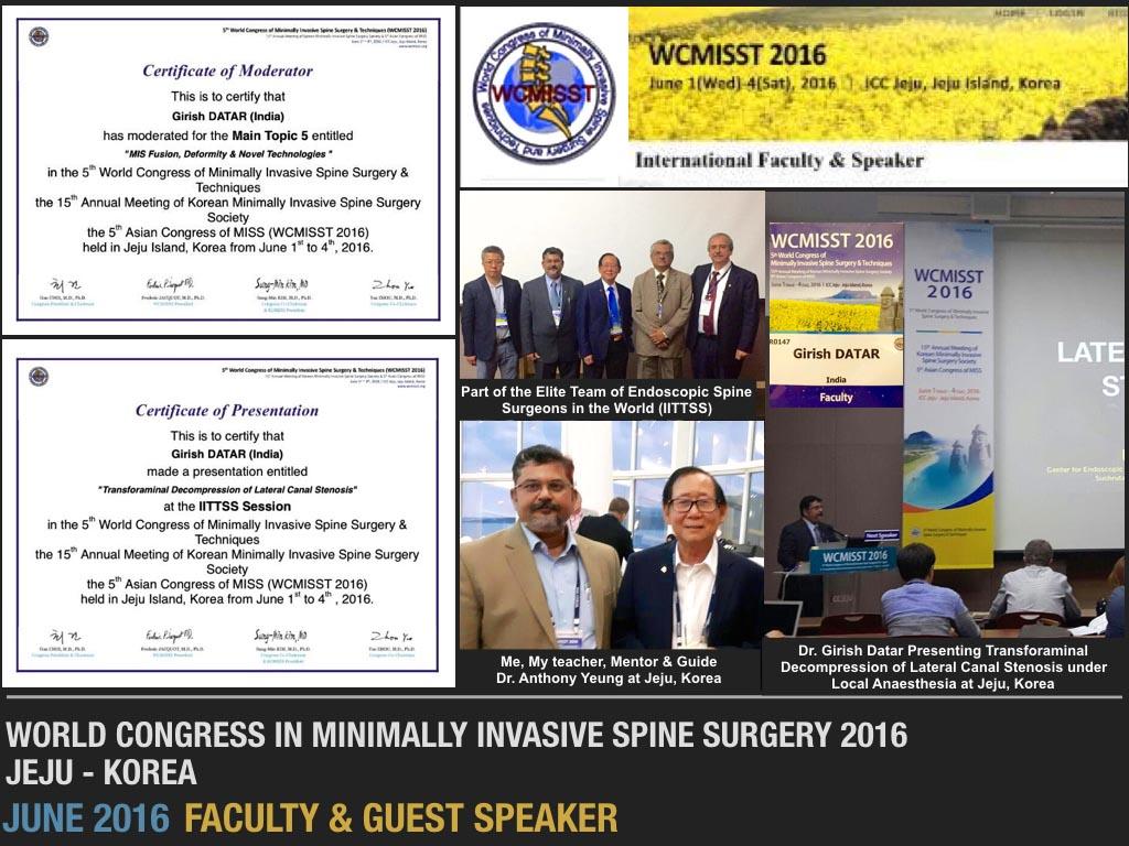 June 2016 Faculty & Guest Speaker