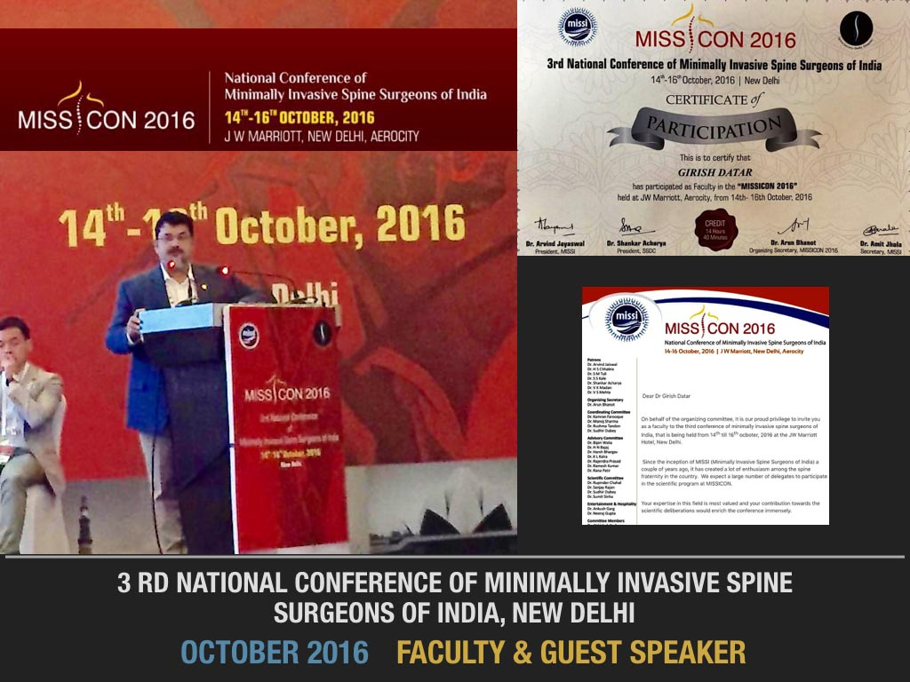 October 2016 Faculty & Guest Speaker